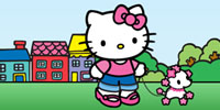 Hello Kitty printable coloring pages