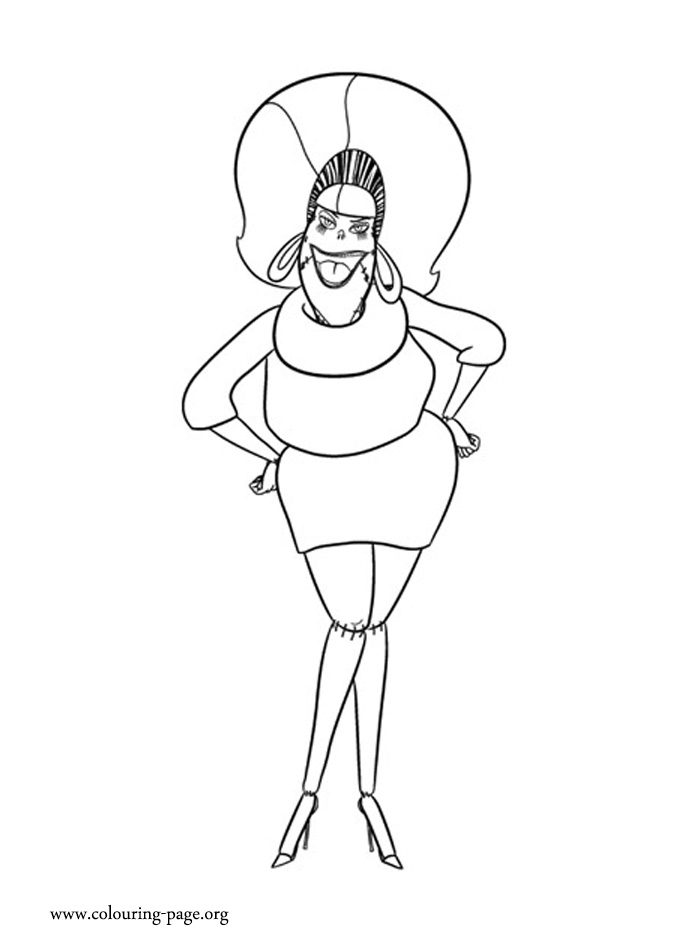 print hotel transylvania coloring pages - photo#15