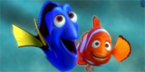 Finding Nemo movie coloring page
