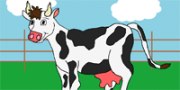 Cows and Calves printable coloring pages