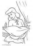 Cinderella talking with her friend