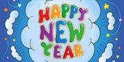 New Year printable coloring pages