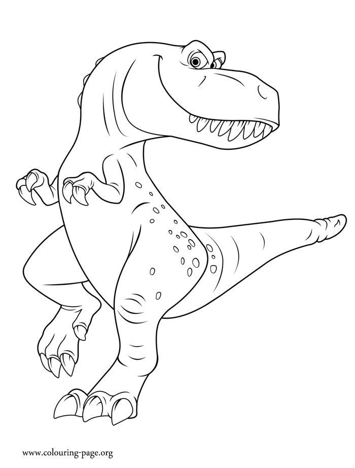 the good dinosaur  ramsey coloring page
